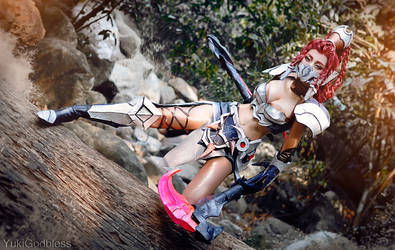 Akali Head Hunter by yukigodbless