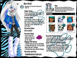 Monster High OC Rei Wolf by Dani150921