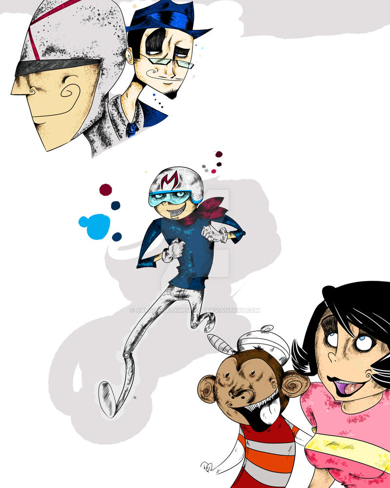 WIP Speed Racer by ArrogantLampShade