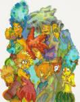 Simpsons Meet the Terwilligers by ArrogantLampShade