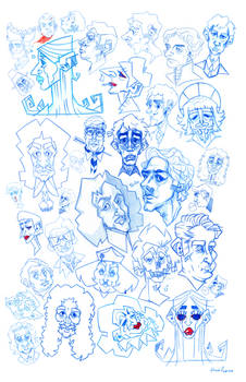 Just Another Gaggle of Faces