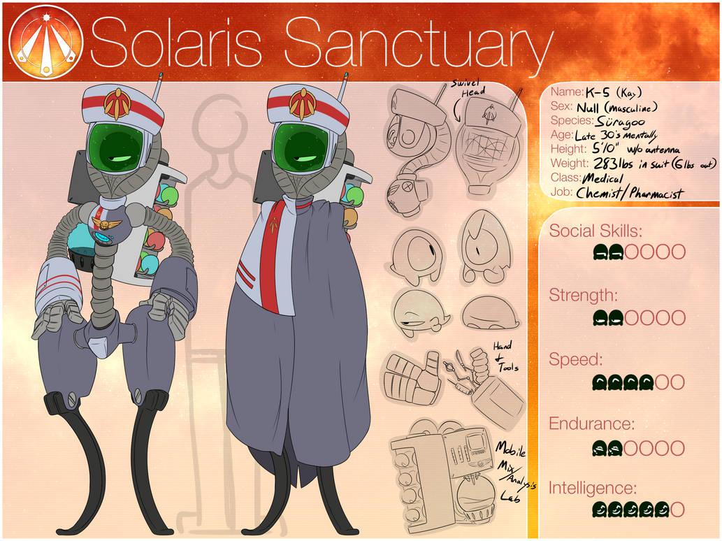 K-5 : Solaris Sanctuary by RubiedSnoot on DeviantArt