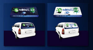 Paintball KLP-window stickers by R1Design