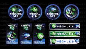 Paintball KLP-stickers by R1Design
