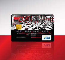 KB-credit card design by R1Design