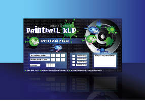 Paintball KLP-Voucher by R1Design
