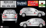 Delivery- car stickers 2