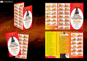 Ricany Chinese food delivery menu by R1Design