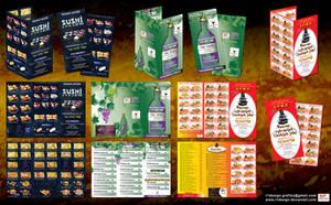 Ricany  food delivery menu Presentation by R1Design