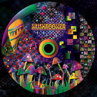 Mushroomer - CD label by R1Design