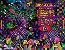 Mushroomer - CD - Outer tray by R1Design