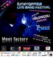 Emergenza live band festival - Prague - E.Ce-final by R1Design