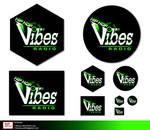 b- Vibes logo presentation 10