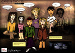 unfinished sketch - actors/cast in storyboard