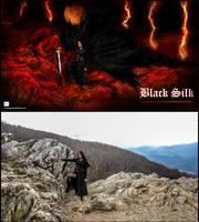 Black Silk- Photo VS design ( full ) by R1Design