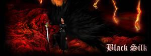 Black Silk- facebook cover by R1Design