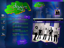 3day , web + player by R1Design