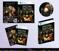 Spectra Psyclus - PC game box concept by R1Design