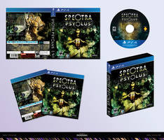 Spectra Psyclus - PS4 box cover concept by R1Design