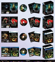 Spectra Psyclus - ps4, PC game box +dvd cover 1,2 by R1Design