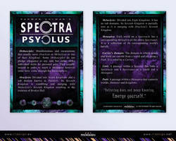 Spectra Psyclus - cards -2-terms and descriptions by R1Design