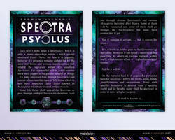 Spectra Psyclus - cards -1-intro by R1Design