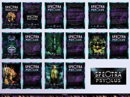 Spectra Psyclus - cards -presentation 1 of 4 by R1Design