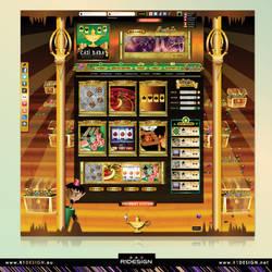 Online Casino- WEB concept (Casi Baba)