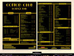 Cotton club-new Menu-Ricany