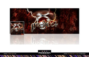 X-PROJECT, FB cover +pic by R1Design