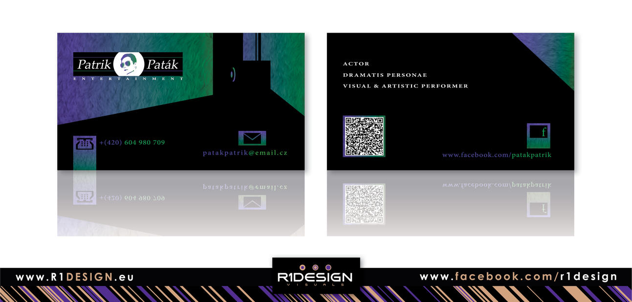 Patrik Patak -Entertainment- business card by R1Design on DeviantArt