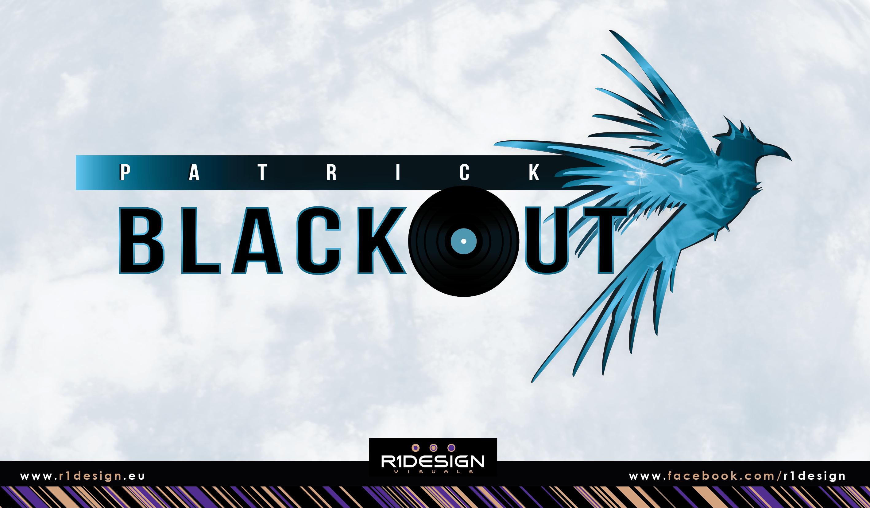 Patrick BLACKOUT album LOGO by R1Design
