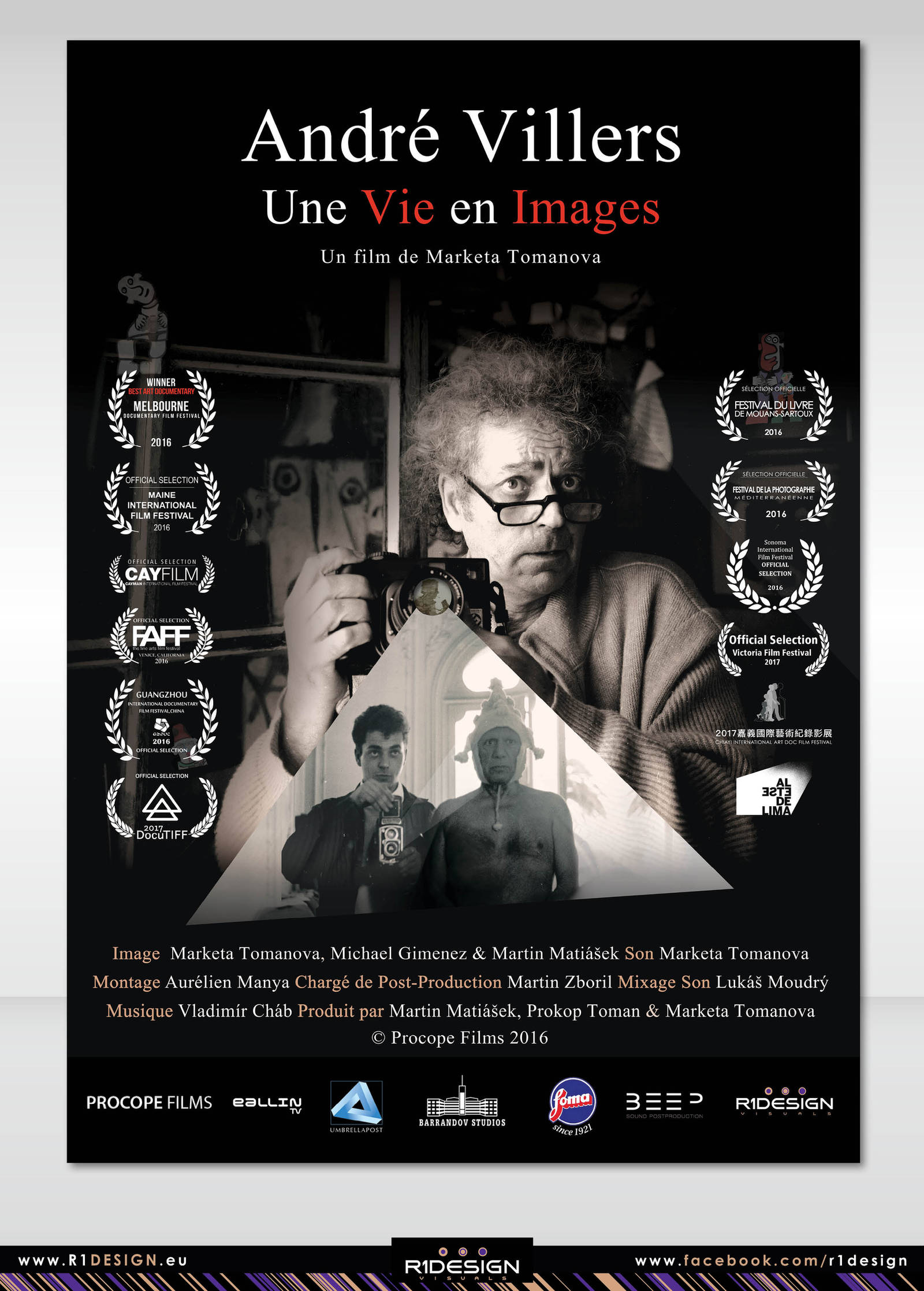 POSTER-Documentary film-Une Vie en Images by R1Design
