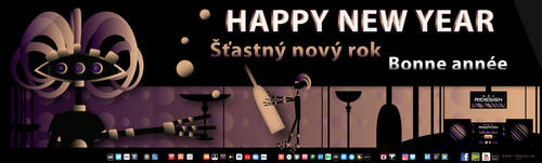 New year greeting by R1Design