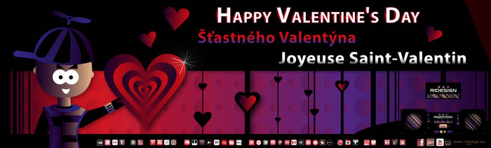 Happy Valentine's Day 2017 by R1Design