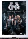 Metal band- D.N.A-poster design-2