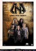 Metal band- D.N.A-poster design-1 by R1Design
