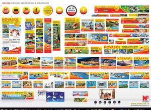 ONline design, marketing, branding-NOVASOL cz