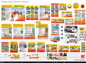 OFFline design, marketing, branding-NOVASOL cz