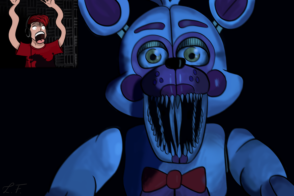 Markiplier FNAF - FANART by LiaLeona on DeviantArt Markiplier Fnaf