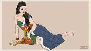 Sazae Oni - 7 Illustrations