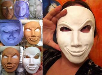 Hexadecimal Cosplay - Mask WIP by ArtbyZaheroux