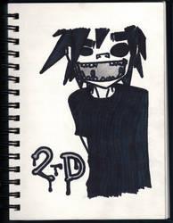 2-D by krazykid7