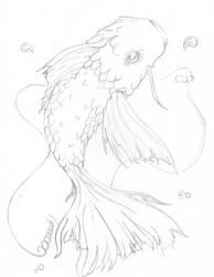 Sketchy Koi