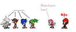 Amy's confused by sonic2344
