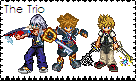 The Kingdom Trio Stamp by sonic2344