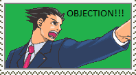 Phoenix Wright Stamp by sonic2344