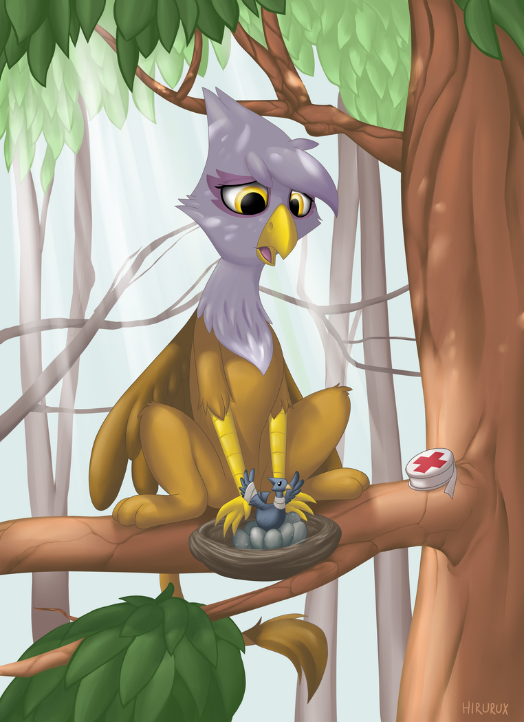 Gilda the Sensitive..? -Everfree NW Contest Entry- by hirurux
