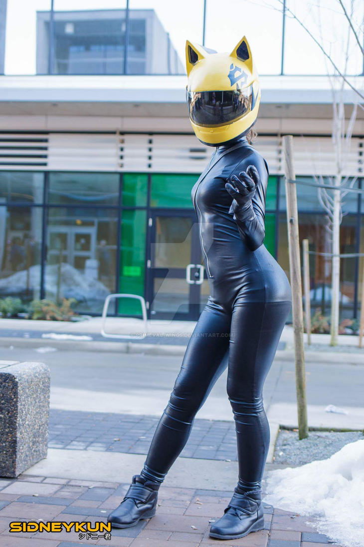 Celty at Anirevo Winter by Primeval-Wings
