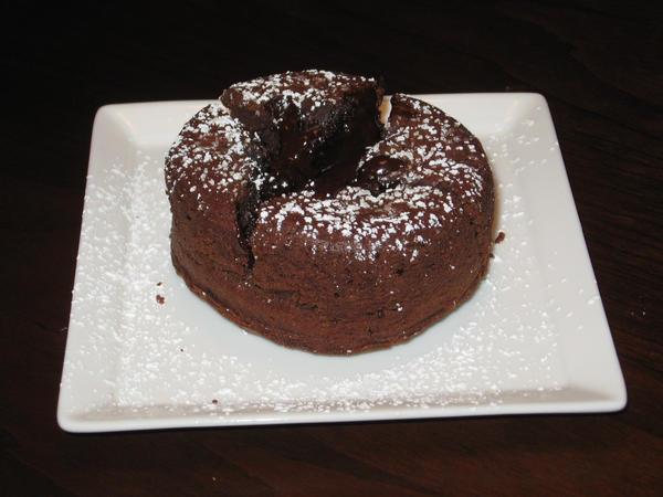 Molten Lava Cake Recipe With Semi Sweet Chocolate